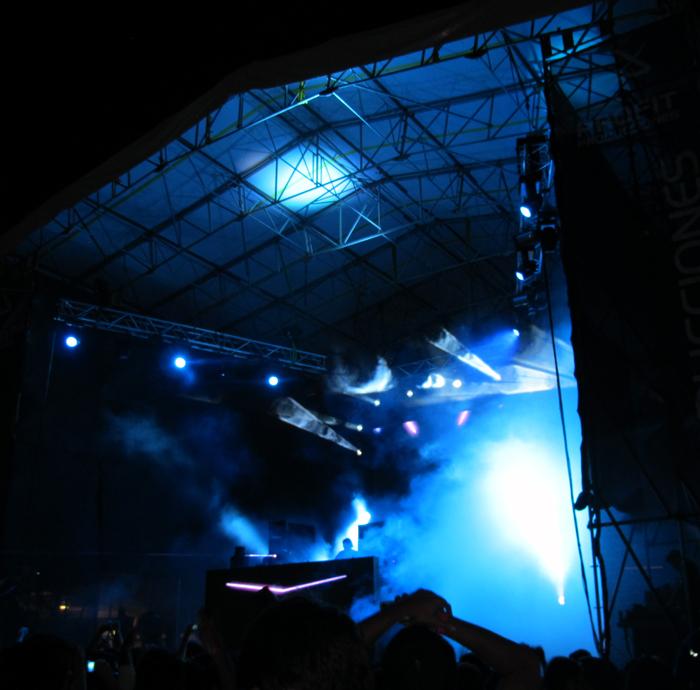 DJ Concert Staging