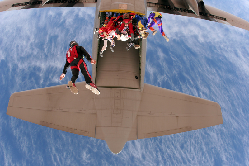 Freefly Skydiving