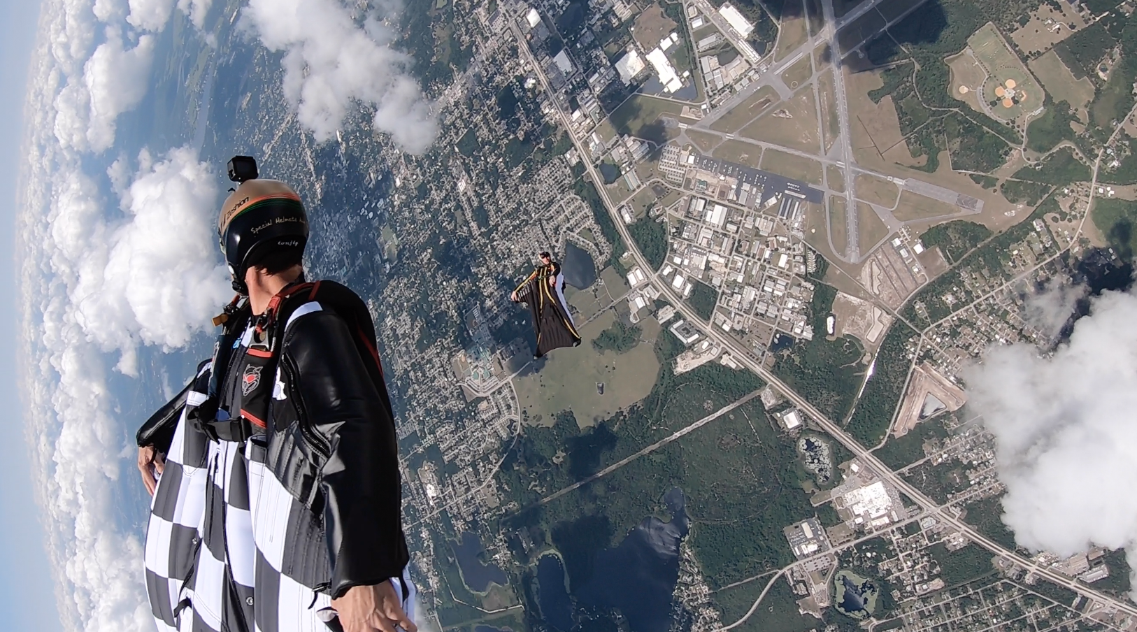 Summer Wingsuit Flying